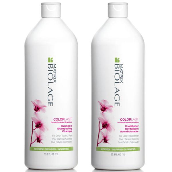 Matrix Biolage Colorlast Shampoo And Conditioner 1000ml