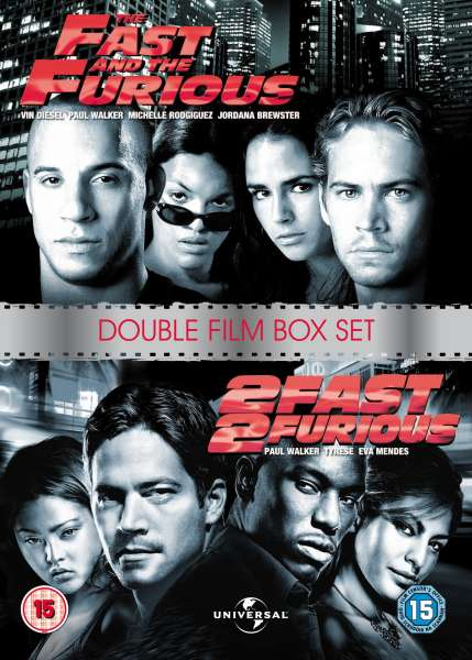 Double The Fast And Furious 2 DVD