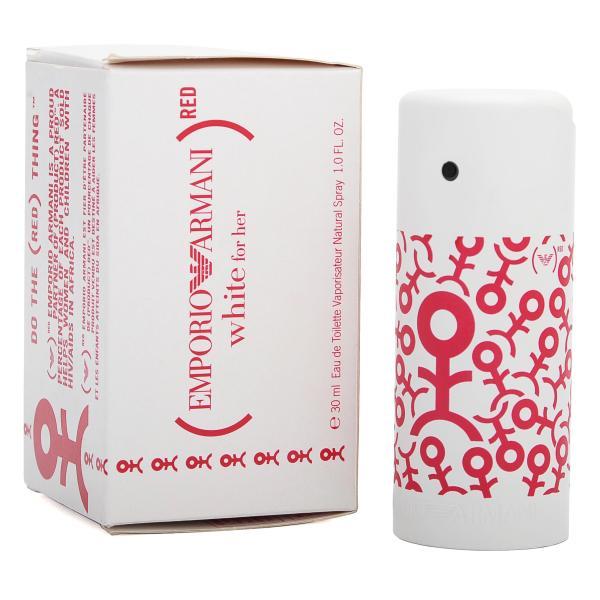 Emporio Armani Red White For Her Eau De Toilette 30ml Perfume