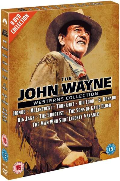 John Wayne Westerns Collection Dvd Zavvi