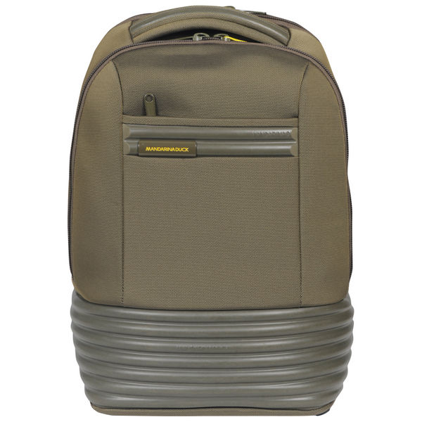 8d76270f247 Mandarina Duck Tank 2 Compartment Backpack Pc 15.6 - Army. Description