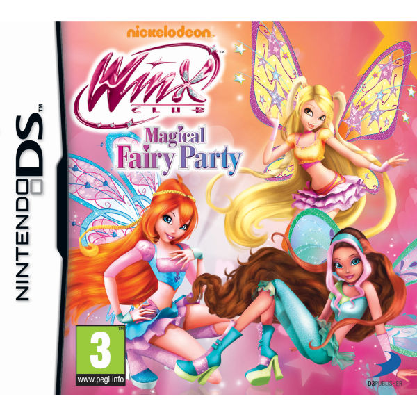 Winx Club Magical Fairy Party Nintendo Ds Zavvi