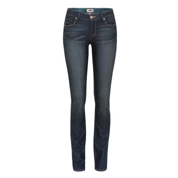 Paige Women's Skyline Straight Jeans - Finnley Blue