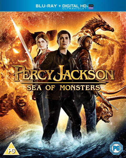 Percy Jackson: Sea of Monsters (Includes UltraViolet Copy)