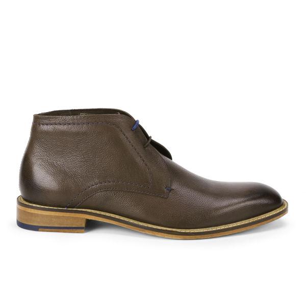de24044ef Ted Baker Men s Torsdi Leather Chukka Boots - Brown  Image 1
