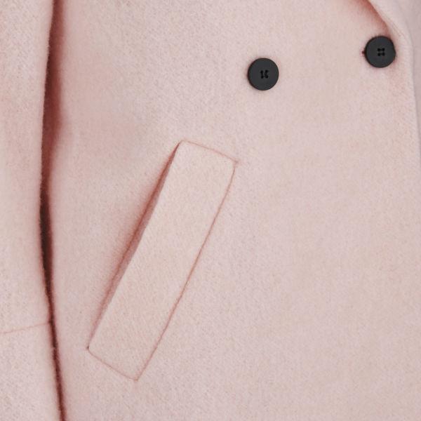 ONLY Women's Katu Wool Coat - Light Pink Womens Clothing | TheHut.com