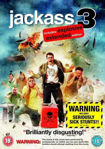 Jackass 3 Dvd Zavvi