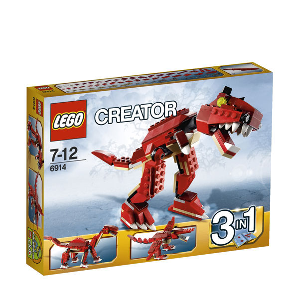 Lego Creator Prehistoric Hunters 3 In 1 6914 Iwoot