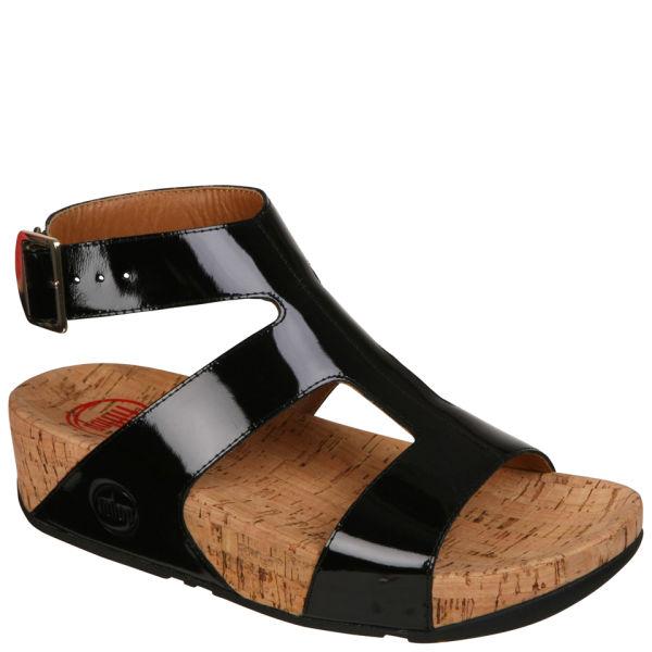 945959e97ff49 FitFlop Women s Arena Sandals - Black  Image 1