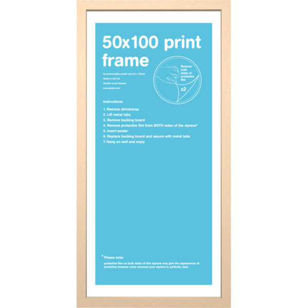 Beech Frame 50 x 100cm