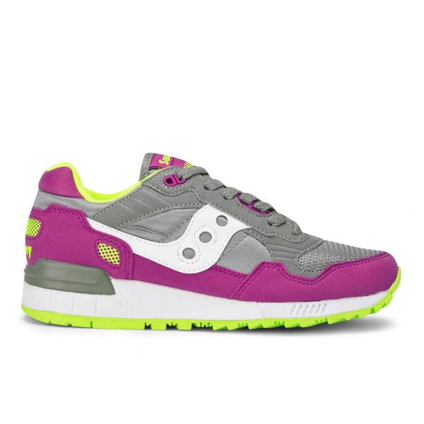 Saucony Women's Shadow 5000 Trainers - Grey/Pink