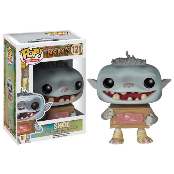 Boxtrolls Shoe Pop! Vinyl Figure