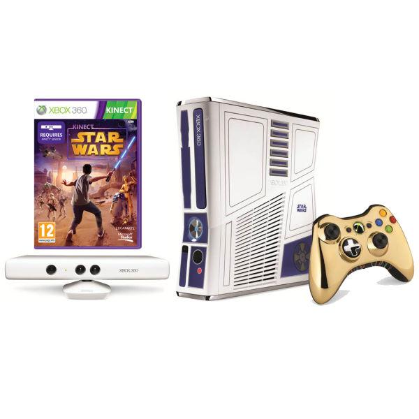 Xbox 360 limited edition star wars bundle.