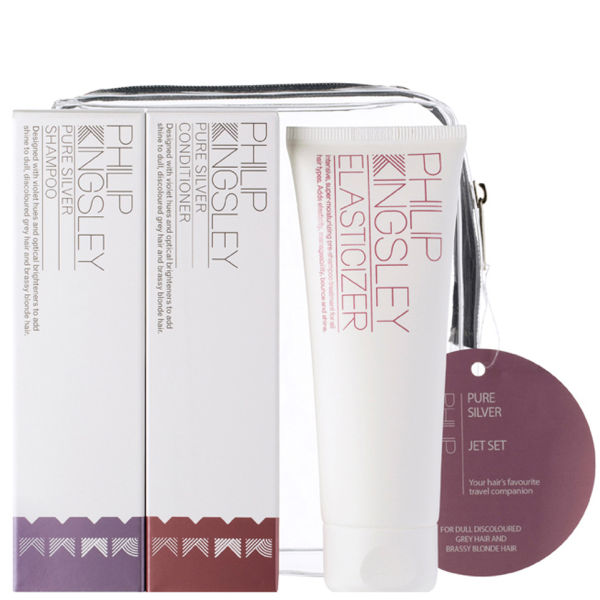 Philip Kingsley Jet Set Pure Silver (3 Products)
