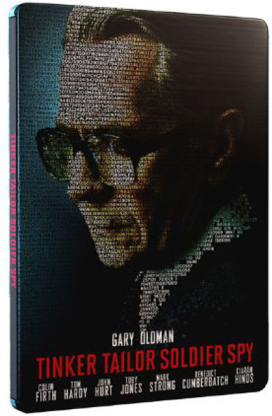 Tinker, Tailor, Soldier, Spy - Limited Edition Steelbook - Double Play (Blu-Ray and DVD)