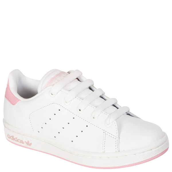 finest selection c927f 4f07a adidas Kids Stan Smith Trainers - White/Pink