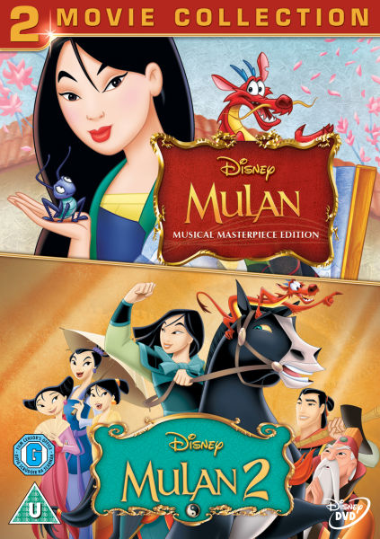 Mulan 1 And 2 Dvd Zavvi