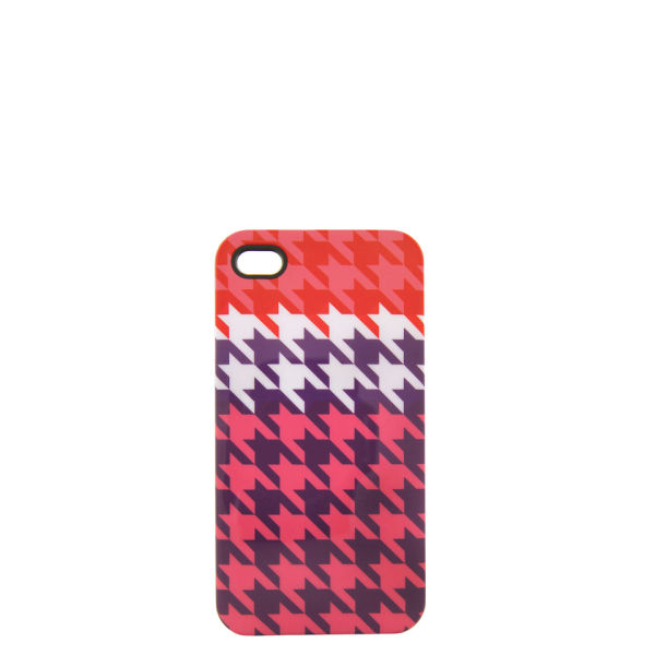 House of Holland Women's iPhone 4 Case - Houndstooth