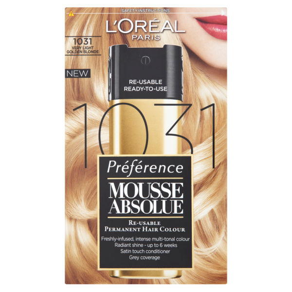L Oreal Paris Preference Mousse Absolue 1031 Very Light