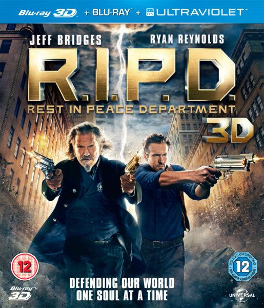 R.I.P.D 3D (incluye copia UltraViolet Copy y version 2D) Blu-ray ...