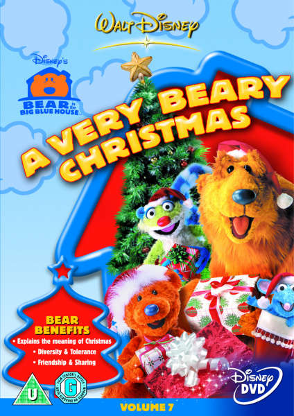 Bear In The Big Blue House A Very Beary Christmas Dvd