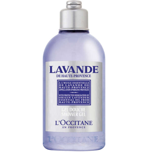L'Occitane Organic Lavender Shower Gel 250ml