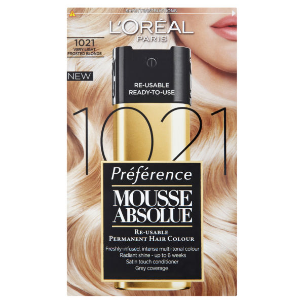 L Oreal Paris Preference Mousse Absolue 1021 Very Light