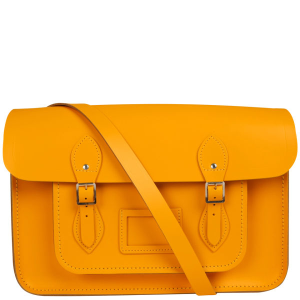 The Cambridge Satchel Company 15 Inch Leather Satchel - Yellow