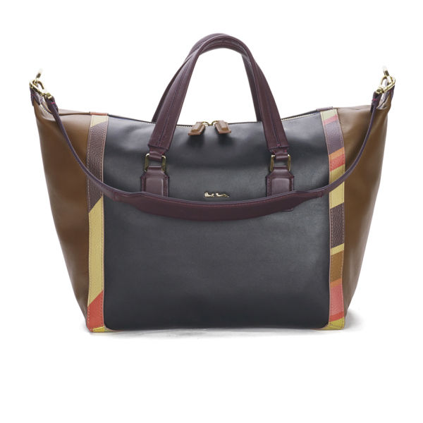 Awesome Paul Smith Women39s Chocolate Brown 39concertina39 Tote Bag In Brown