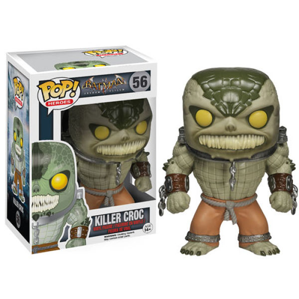 DC Comics Arkham Asylum Killer Croc Pop! Vinyl Figure