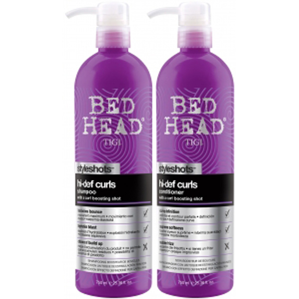 Tigi Bed Head Styleshots Hi Def Curls Tween Duo 2 Products Lookfantastic