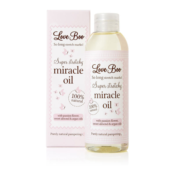 Aceite antiestrías Super Stretchy Miracle de Love Boo(100 ml)
