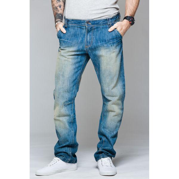 Ringspun Men's Universe Jeans - Light Wash Mens Clothing | Zavvi.com