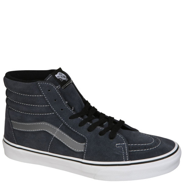 8647a5da8298 Vans Sk8-Hi Suede Trainers - Ombre Blue Smoked Pearl Clothing ...