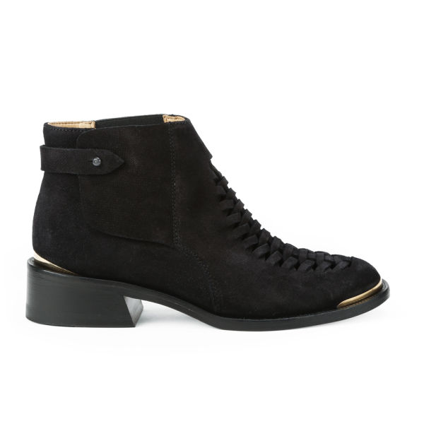 Purified Women's Patti Suede Boots - Black