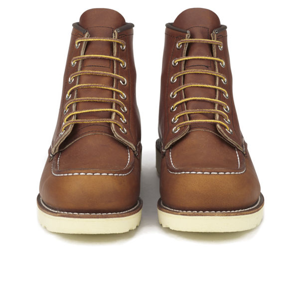 Red Wing Men's 6 Inch Moc Toe Leather Lace Up Boots - Oro Legacy - UK 6/US 7 WelPnwDvlx