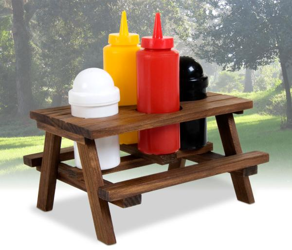 Picnic Table Condiment Set Iwoot