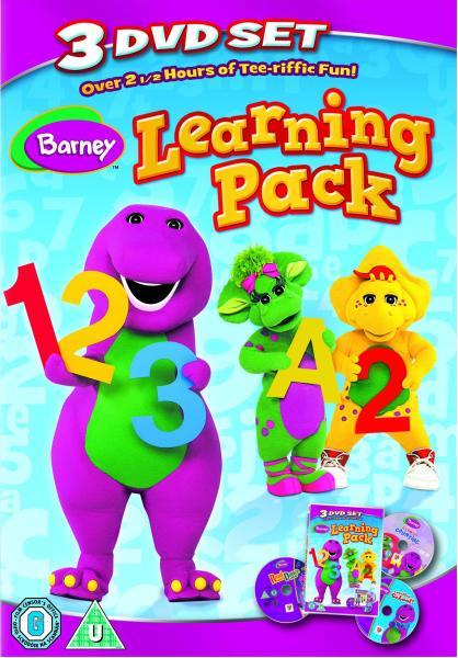 Barney Learning Pack Dvd Zavvi