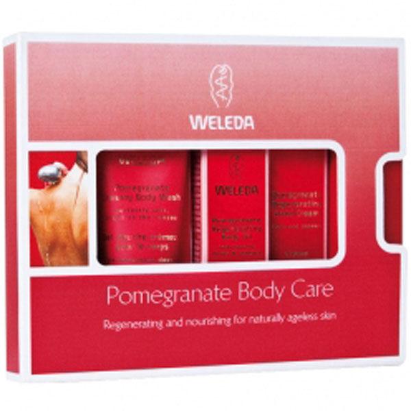 Weleda Mini Pomegranate Body Care Gift Set 3 Products