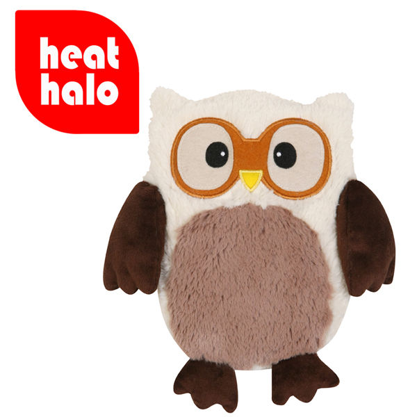 Hooty Heatable Owl Cream Iwoot