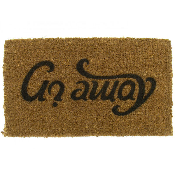 Ambigram Doormat Come In Go Away Iwoot