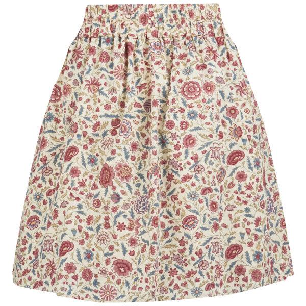 Maison Scotch Women's Mini Print Skirt - Cream/Multi