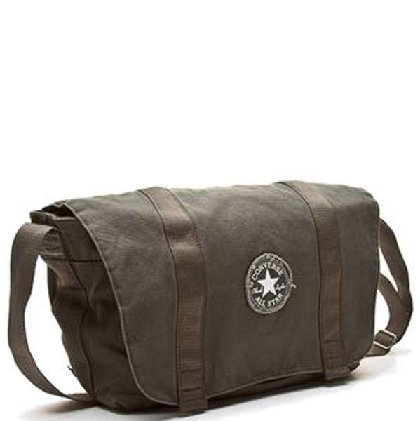 c1ee73fc725 Converse To Go Canvas Messenger bag - Grape leaf colour Clothing   Zavvi