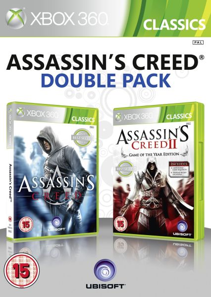 Assassin S Creed 1 And 2 Double Pack Xbox 360 Zavvi