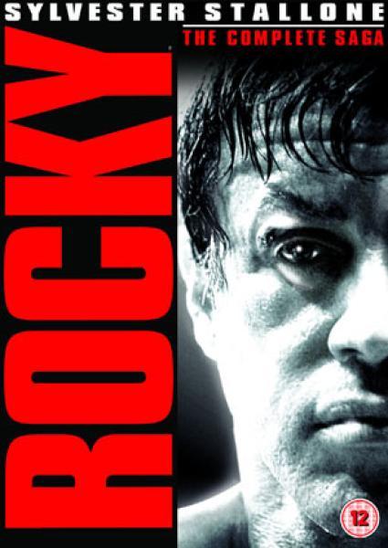 Rocky The Complete Saga Dvd Zavvi
