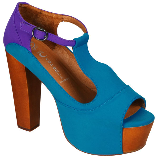 Jeffrey Campbell Women's Foxy Shoes - Blue/Purple