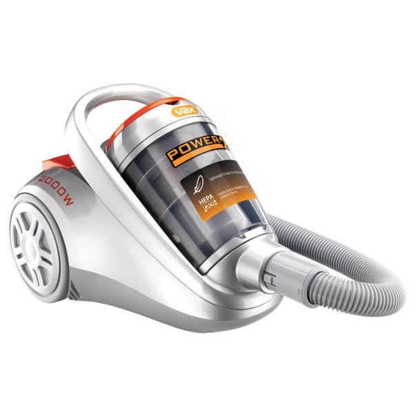 VAX 2000w Power 2 Cylinder Vacuum Cleaner