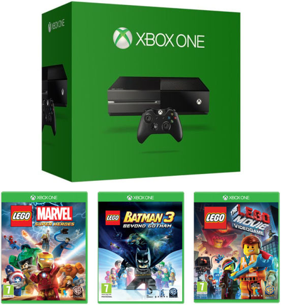 Lego Games For Xbox 1 : Xbox one console includes lego games exante uk