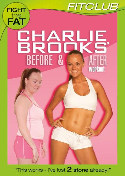 Charlie Brooks Before and After Workout