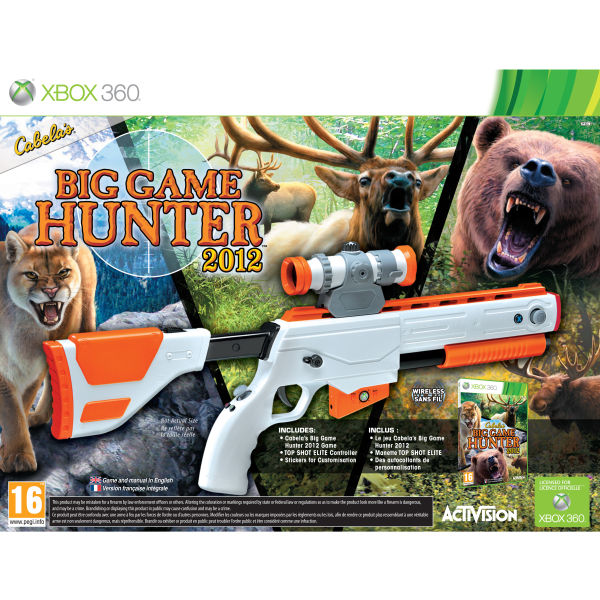 Hunting Games For Xbox 1 : Cabelas big game hunter bundle xbox zavvi